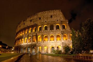 Visite de Rome à pied, en soirée