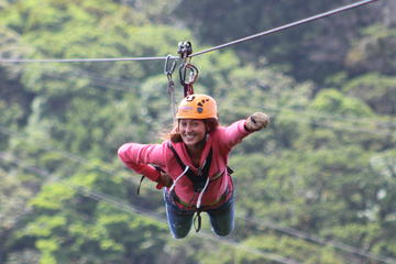 100% Adventure Park Combo:  Zipline, Superman and Mega Tarzan Tour in...
