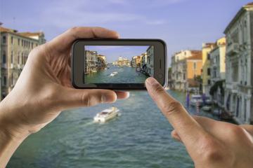 Visite photographique à pied à Venise: une journée dans la vie de...