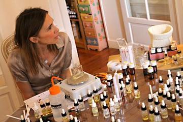 Workshop sobre perfumes em Paris