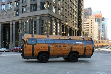 Chicago Barrel Bus Prohibition Themed Gangster Tour