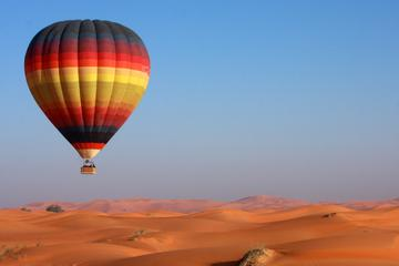 Dubai Hot Air Balloon Flight Including Gourmet Breakfast and Falconry...