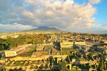 Small-Group Guided Pompeii Ruins and Sorrento Tour with a Farmhouse Lunch