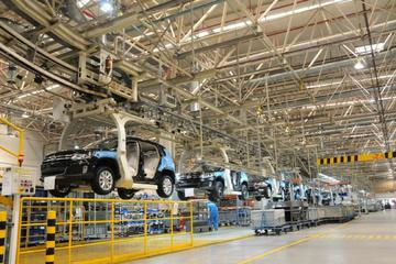 Shanghai Volkswagen Factory Visit and City Highlights Combo Tour with Lunch