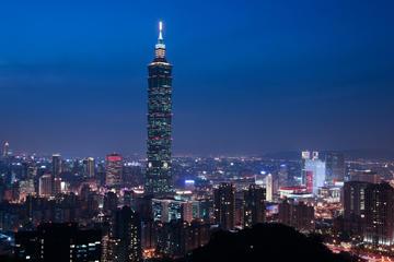 Excursão Noturna em Taipei, incluindo jantar no Din Tai Fung