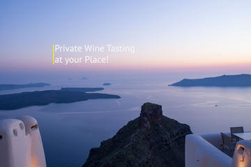 PRIVATE WINE TASTING AT YOUR PLACE!