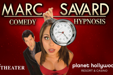 Marc Savard Comedy Hypnosis in het Planet Hollywood Resort &amp ...