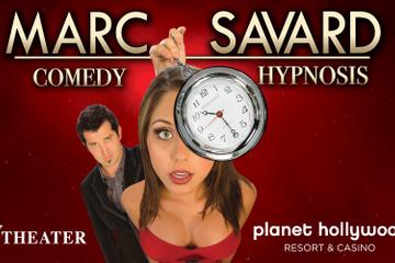Marc Savard Comedy Hypnosis no Planet Hollywood Resort and Casino