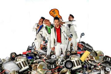 Recycled Percussion im Planet Hollywood Resort und Kasino