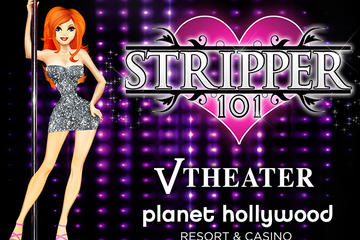 Stripper 101 no Planet Hollywood...