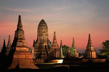 Day Tour to Temples of Ayutthaya by River Cruise and Including Buffet...