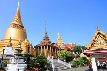 Excursión de medio día para grupos pequeños de los templos de Bangkok