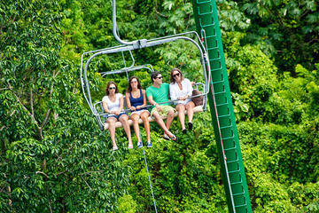 Mystic Mountain Sky explorer and Canopy Zip Line