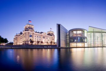 Cruzeiro noturno em Berlim