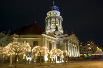 Visite des illuminations de Noël à Berlin