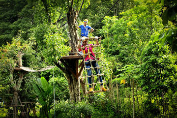 High Ropes Adventure with 2 Hour Luxury Spa Package