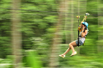 Zip Line Adventure with 2 hour Luxury...