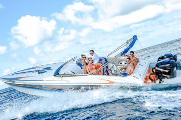 Miss Erin Speedboat Tour - St Lucia...
