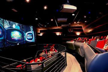 3D-filmen Time Elevator Rome och simulerad åktur