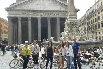 Fahrradtour durch Rom mit Verkostungstour