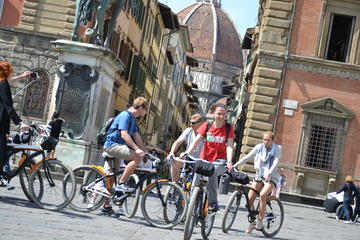 Florence Bike Tour with Tuscan Food Tasting