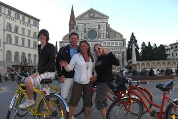 Tour in bicicletta di Firenze con degustazione di cibo toscano
