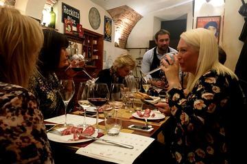 Weinprobe mit italienischem Wein in Mailand