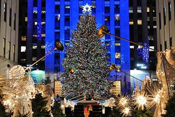 small group new york christmas holiday walking tour
