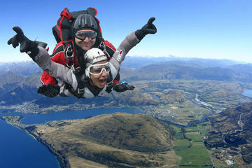 Saut en parachute de Queenstown