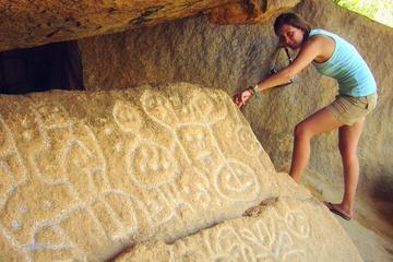 Excursão pelo sítio arqueológico de...