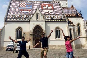 Zagreb City leisurely tour walk and talk