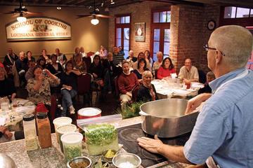 Clase de cocina en Nueva Orleans