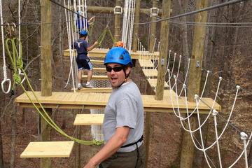 Day Trip Greenbrier Aerial Adventure Course near White Sulphur Springs, West Virginia