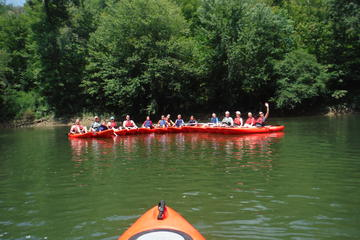 Day Trip West Virginia Kayaking Adventure near White Sulphur Springs, West Virginia