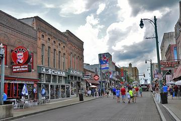 Downtown Memphis Beale Street Walking...