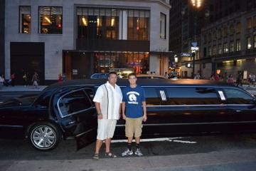 Privétour in een limousine: het beste van NYC