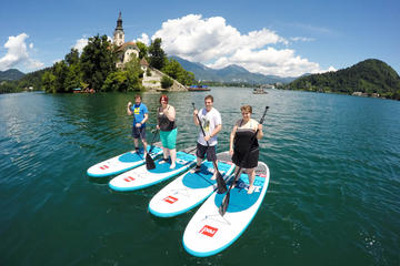 Lake Bled Stand-Up Paddle Boarding Lesson and Tour