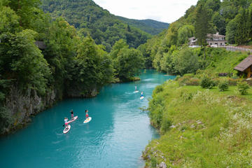Paddle-boarding & Hiking - Active Day Tour to Soca Valley from...