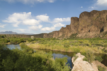 Aventure en kayak sur la rivière Salée au départ de Scottsdale