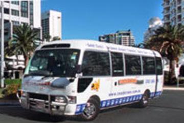 Abfahrt des Transferservice von Brisbane Hotels zum Flughafen
