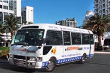 Transfert en navette à l'arrivée à Brisbane, de l'aéroport à l'hôtel