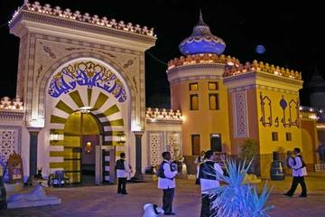Cena y espectáculo de cultura egipcia