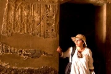 Excursão no litoral Luxor: excursão privada dos Templos de Karnak e...