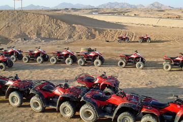 Giro in quad nel deserto egiziano da Sharm el Sheikh