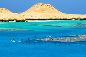 Mahmaya: snorkelcruise naar het eiland Giftun
