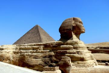 Privérondleiding: de Piramiden van Gizeh, de Sfinx, Memphis, Sakkara
