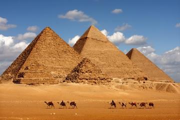 Privattur: Pyramidene ved Giza, Sfinksen, Det egyptiske museum...