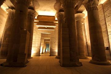 Spettacolo di suoni e luci al tempio di File con trasporto privato