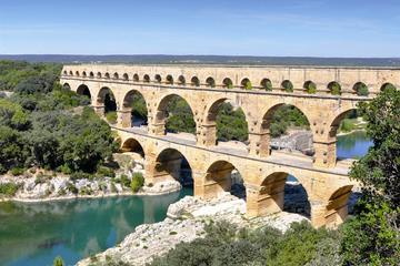 Small Group Half-Day Pont du Gard and Roman Theater Tour with Wine...