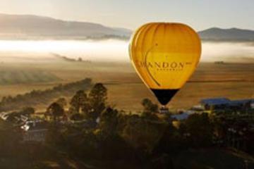 Excursão em vinícolas e voo de balão em Yarra Valley